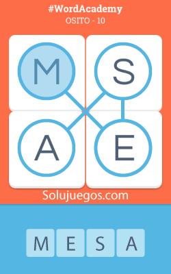 Solucion-Word-Academy-Osito-nivel-10