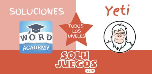Soluciones-Word-Academy-Yeti