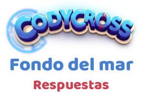 CodyCross Fondo del mar